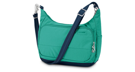 Pacsafe Citysafe LS100 Travel Handbag Women lagoon